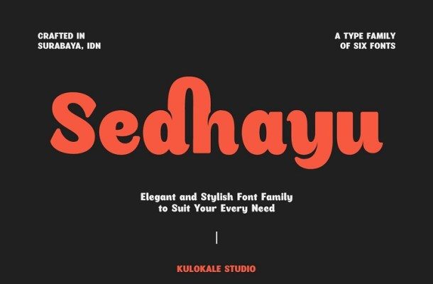 Sedhayu Sans Font Family