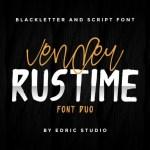 Vender Rustime Font Duo