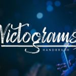 Victograms Handbrush Font
