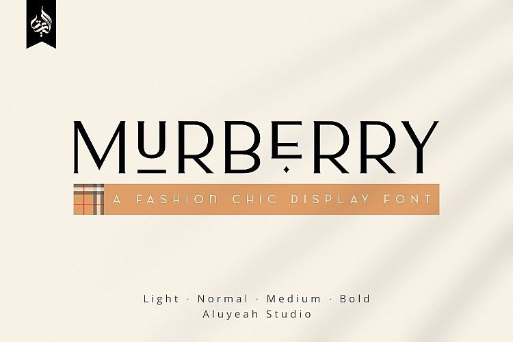 al-murberry-display-font
