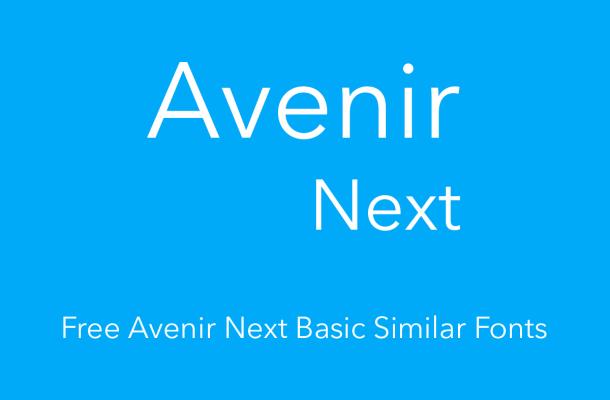 avenir next basic