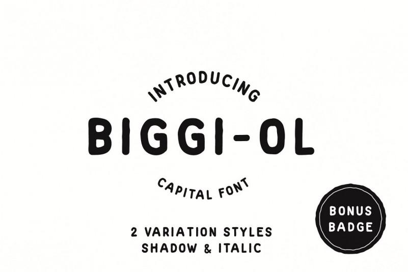 biggi-ol-font