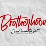 Brotherhood Script Font