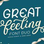 Great Feeling Script Font