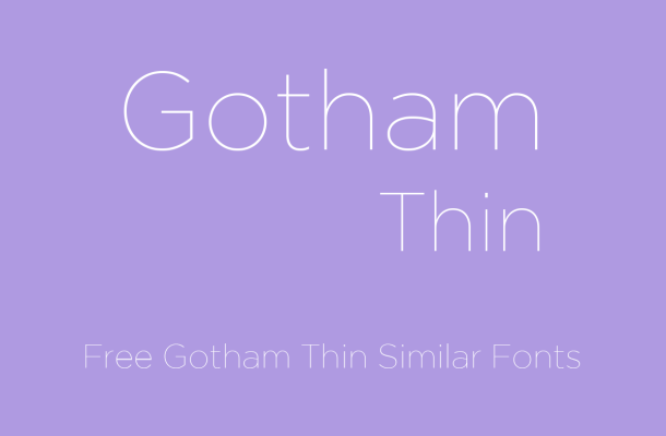 gotham thin new free