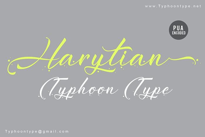 harytian-font
