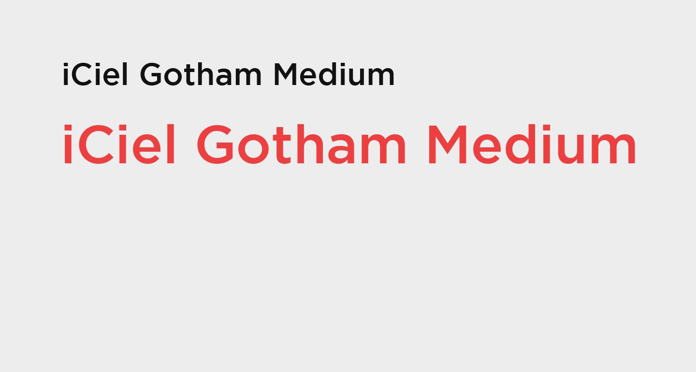 iciel gotham medium