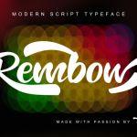 Rembow Script Font
