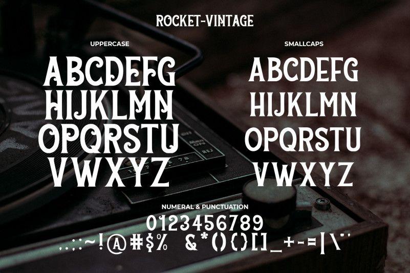 rocket-vintage-font-1
