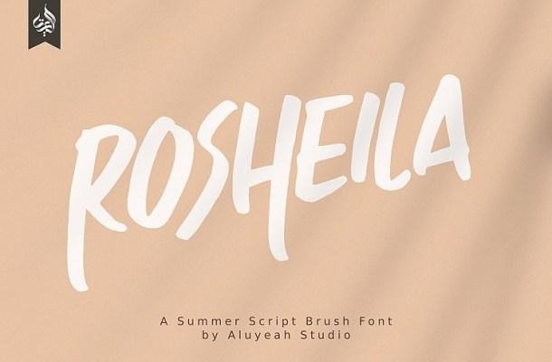 Rosheila Script Font