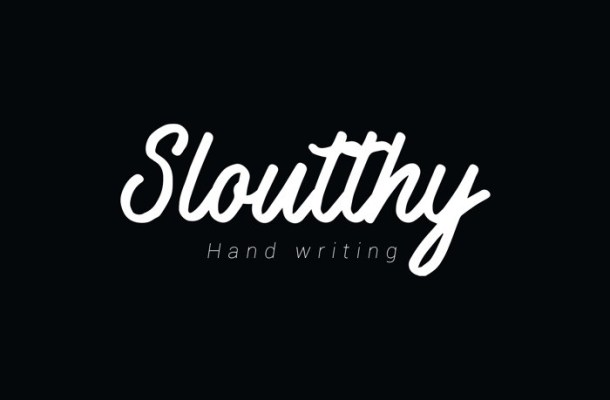 Sloutthy Script Font