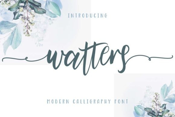 Watters Modern Calligraphy Font