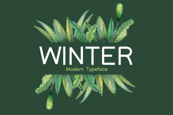 winter-font