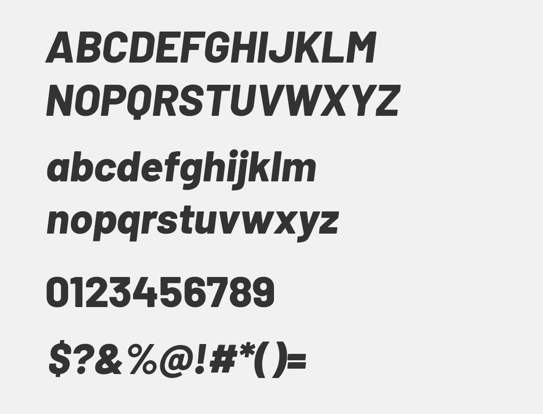 14 barlow extra bold italic