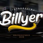 Billyer Dispaly Font