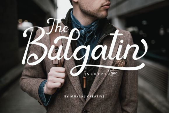 Bulgatin Script Font