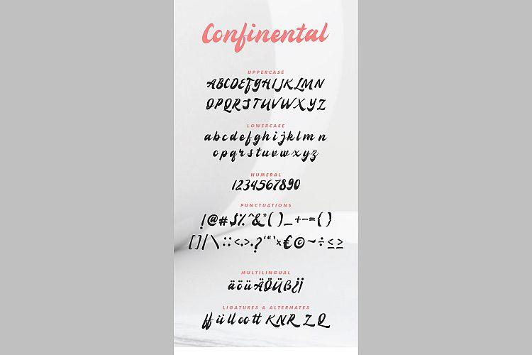 Confinental - Retro Script-font-3