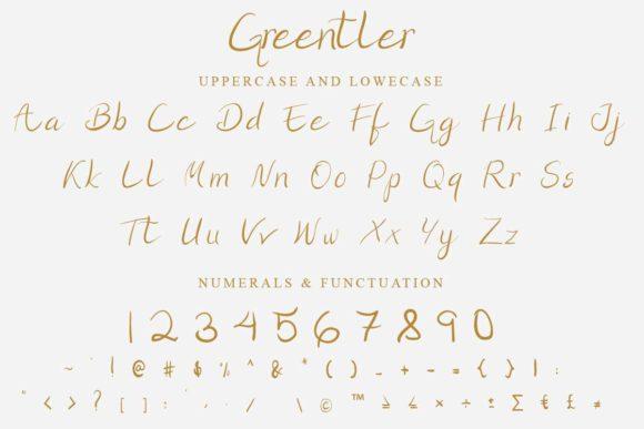 Greentler Font-3