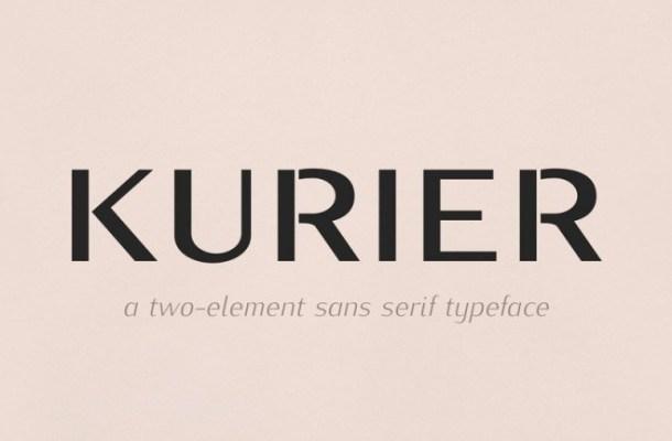 Kurier Sans Serif Font Family