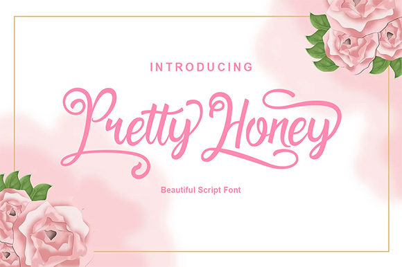 Pretty Honey Calligraphy Font