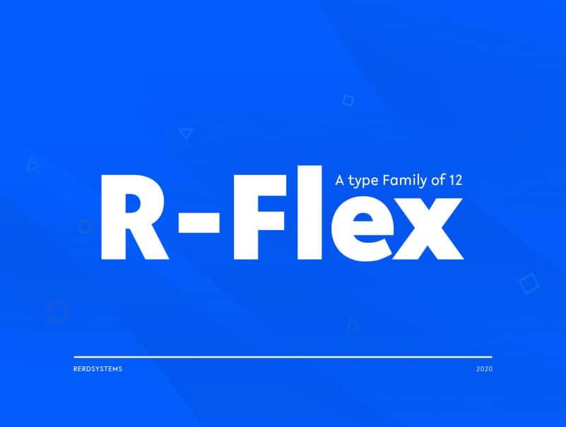 R-Flex Sans Serif Font-1