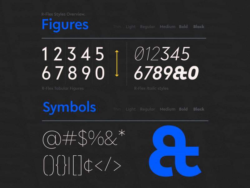 R-Flex Sans Serif Font-3
