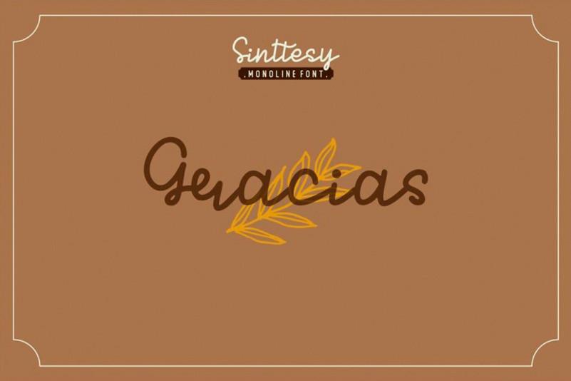 Sinttesy Font-2