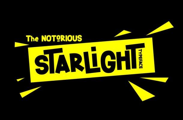 Starlight Sans Serif Font