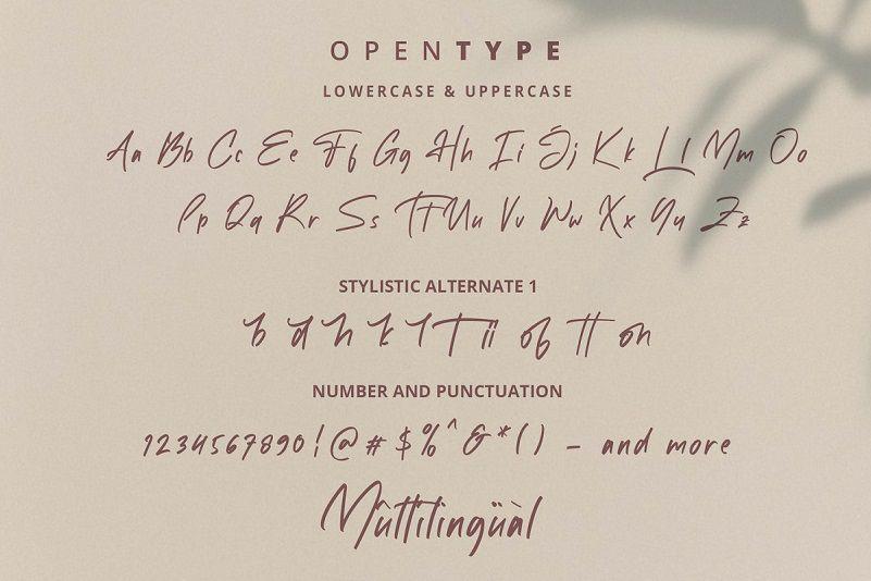 White Mellow Font-3