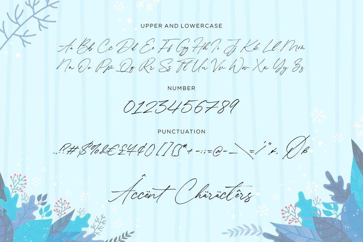 Winterlady Font-3