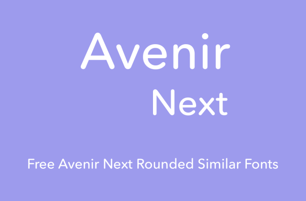 Avenir Next Rounded Font Free