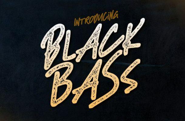 Black Bass Display Font
