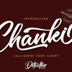 Chanki Calligraphy Script Font