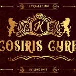 Cosiris Cure Display Font