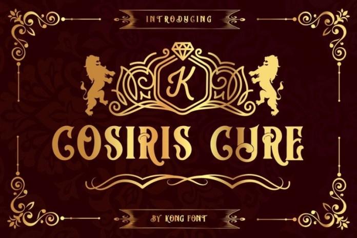 cosiris-cure-font-1