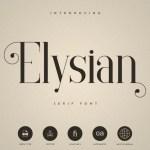Elysian Serif Font