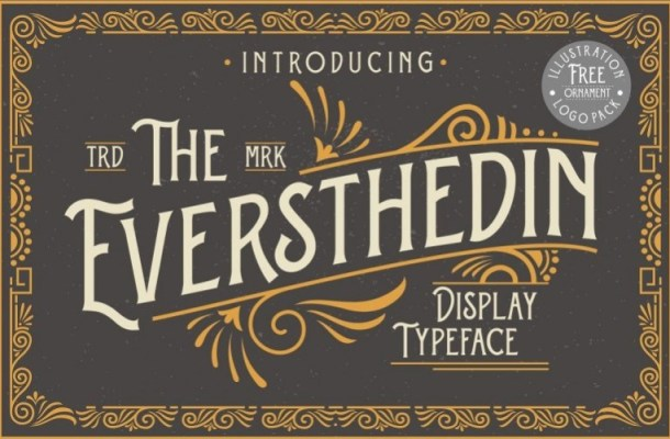 Eversthedin Display Font