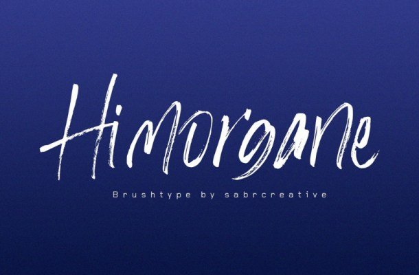 Hi Morgane Brush Font