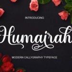 Humairah Calligraphy Font