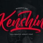 Kenshin Script Font