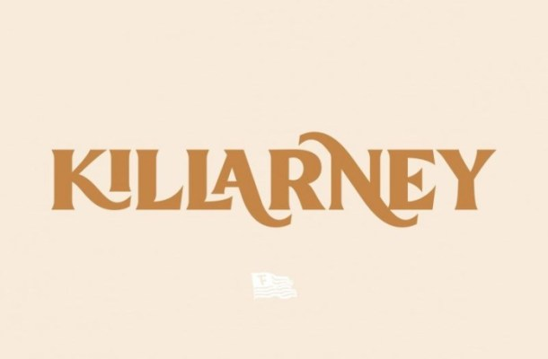 Killarney Vintage Display Font