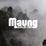 Maung Display Font