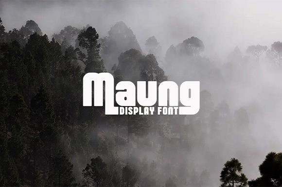 Maung Display Font
