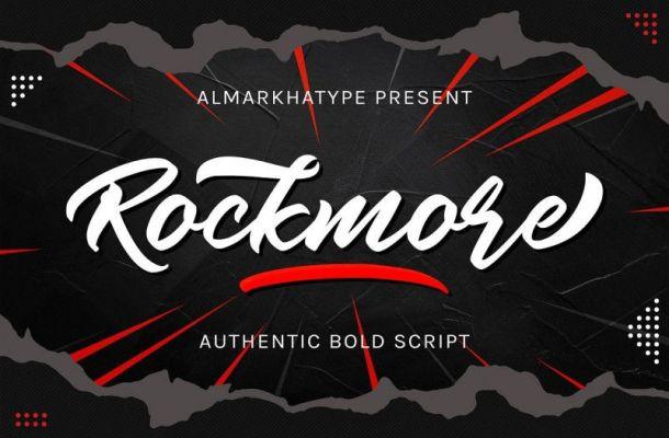 Rockmore Script Font