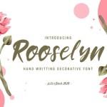 Rooselyn Script Font