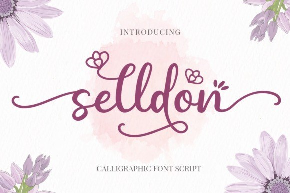 Selldon Modern Calligraphy Font