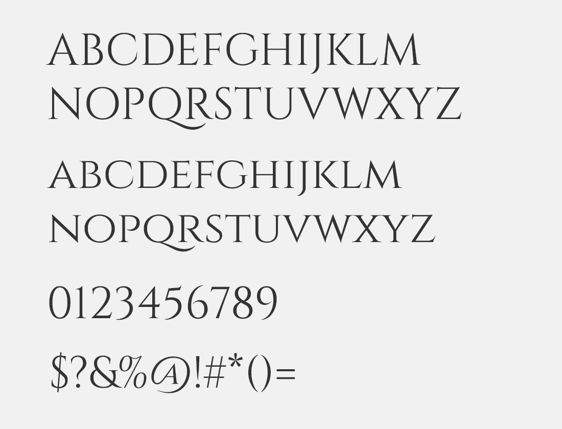 149 Cinzel Decorative font