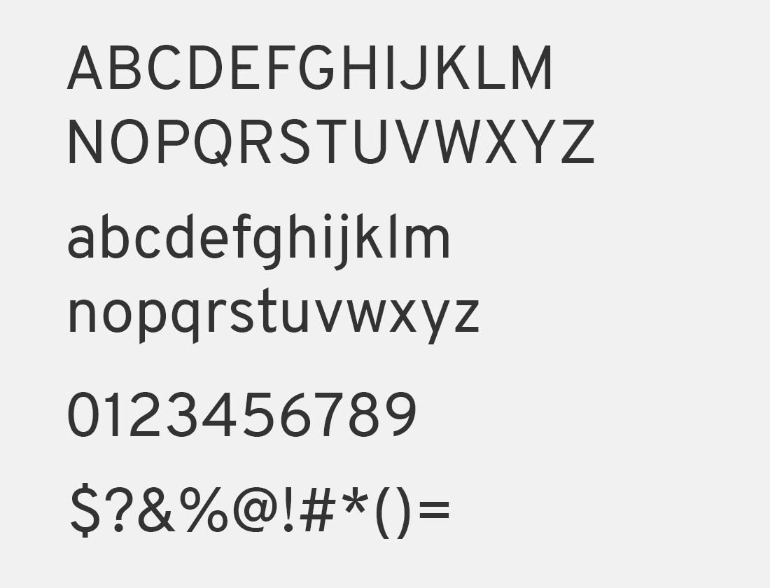 76 Overpass font