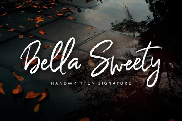 Bella Sweety Font-1