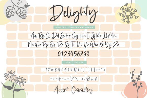 Delighty Font-3